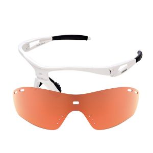 X-Kross Run Pro - Sziols - carbon weiss - Orange Mirror