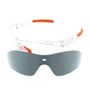 X-Kross Polarized small - Sziols - Cristall Orange - Grau