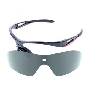 X-Kross Polarized small - Sziols - Schwarz Rot - Grau